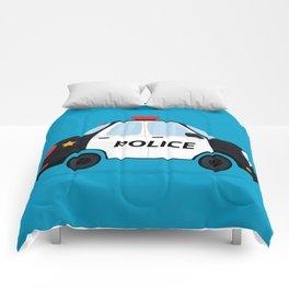 Cute Police Car Comforters