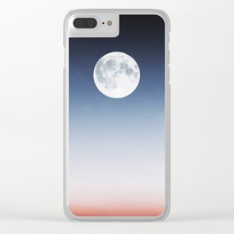 Moonrise Clear iPhone Case