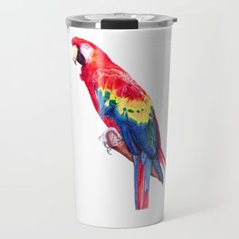Scarlet Macaw Parro Travel Mug