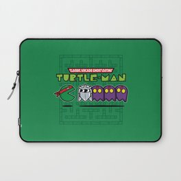 Hero in a Pac-Shell (Raph) Laptop Sleeve