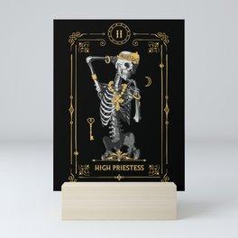 High Priestess II Tarot Card Mini Art Print