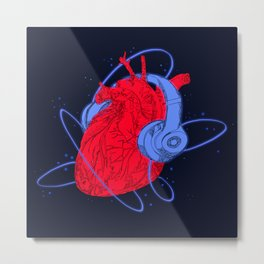 Listen to your Heart II Metal Print