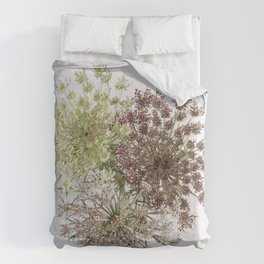 Dill Weed Flowers Comforters
