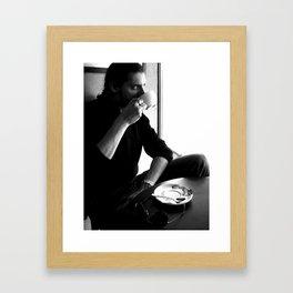 Coffee Shp Framed Art Print