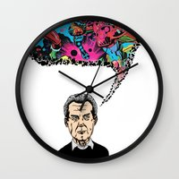 kirby Wall Clocks featuring Jack Kirby by Miguel Villasanta