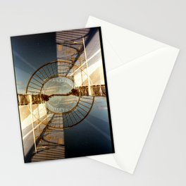 Landscapes c10 (35mm Double Exposure) Stationery Cards