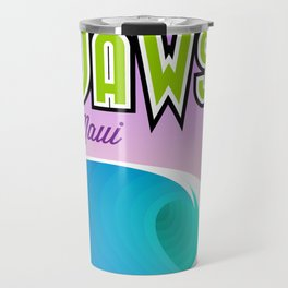Landmarks of Life™: Jaws, Maui Travel Mug