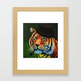 The Tiger Baron Framed Art Print