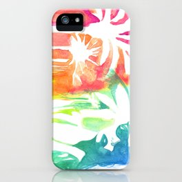An injection of summer iPhone Case