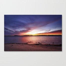 Cotile Sunset Canvas Print