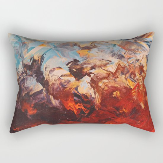 Otherwordly Things Rectangular Pillow