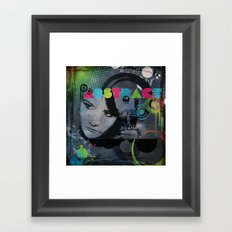 Abstract Vision Framed Art Print