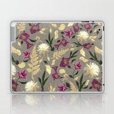 Flowers & Sea Shells Laptop & iPad Skin