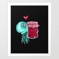 jelly's soul mate Art Print