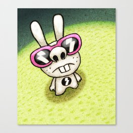 Rabbit 1/3 Canvas Print