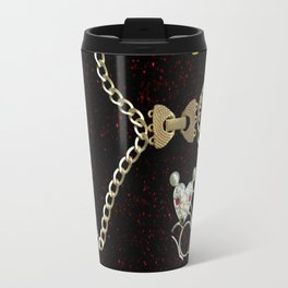 I Love Me Mouse! Cat and Mouse Jewelry Scanography Travel Mug