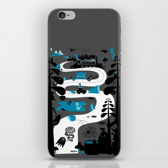 Welcome To The Countryside iPhone & iPod Skin