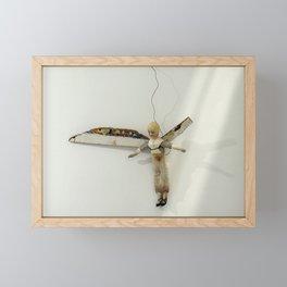 Flying Angel by Annalisa Ramondino Framed Mini Art Print