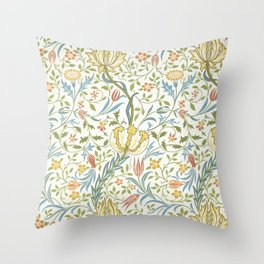 William Morris Flora Throw Pillow