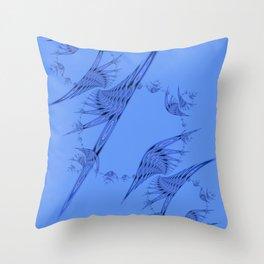 Fractal 85 Throw Pillow