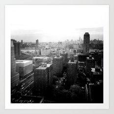 Brooklyn Black and White Art Print