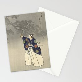 1920s Japanese Art Stationery Cards