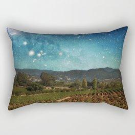 Starlit Vineyard II Rectangular Pillow