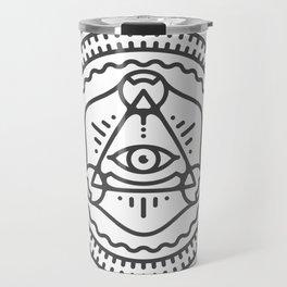We are watching you Travel Mug