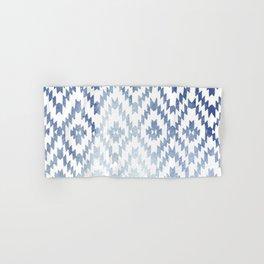 Indigo Ikat Print 3 Hand & Bath Towel