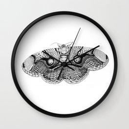 Brahmin Moth Wall Clock