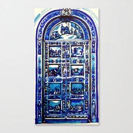 Colombus Doors Canvas Print