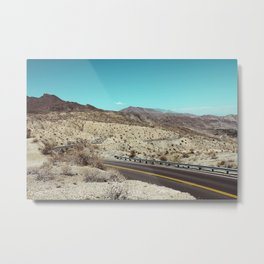 Californian desert Metal Print