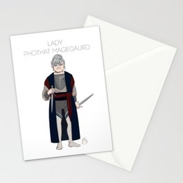 Pluto's Knight Stationery Cards