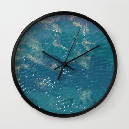 Going to the sea Wall Clock