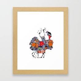 Imaginary friend! Framed Art Print