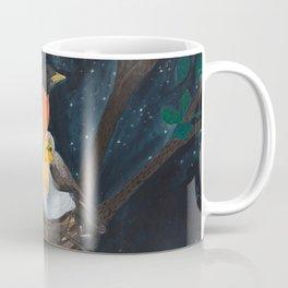 Robins in Nest Coffee Mug