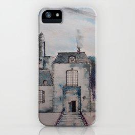Chateau jacaranda iPhone Case
