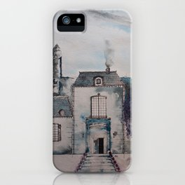 Chateau jacaranda iPhone Case