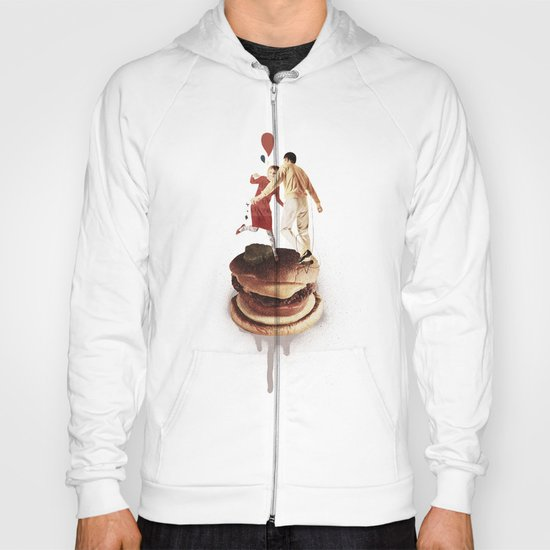 These Burgers Are Crazy II  | Collage Hoody
