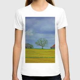Lone Tree on a Hill T-shirt