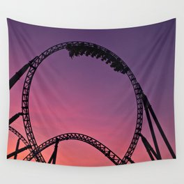 into the sunset Wall Tapestry