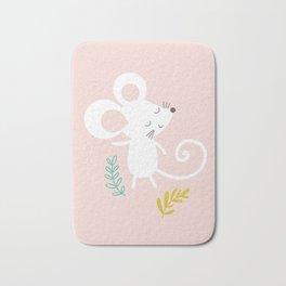 Monty Mouse and Carlie Cat Bath Mat