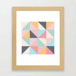 Geometric Pattern XV Framed Art Print