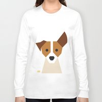 jack russell Long Sleeve T-shirts featuring Jack Russell by Page 84 Design