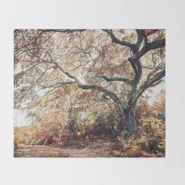 Crimson Fate - Magical Realism Life Throw Blanket