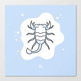 Zodiac: Scorpio Canvas Print