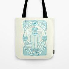 Crystal Blue Jam  Tote Bag