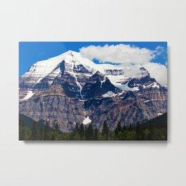 Mt. Robson Awakens Metal Print