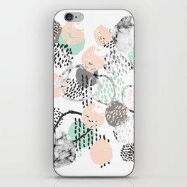 Brice - abstract minimal modern painting home decor minimalist art iPhone Skin