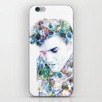 elvis presley iPhone & iPod Skins featuring Elvis Presley by NKlein Design